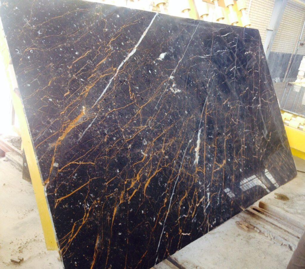 سنگ مرمریت گلدن بلک - مشکی طلایی (Golden Black Marble)
